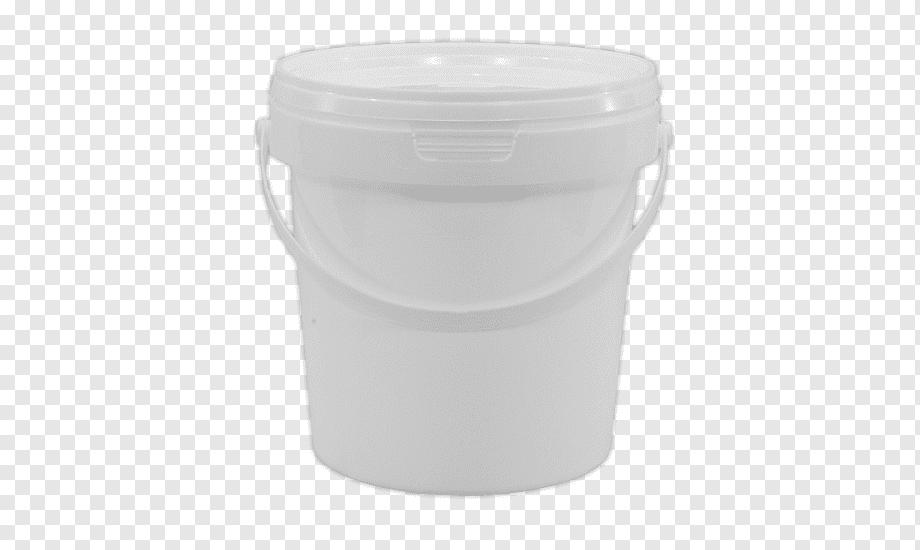 سطل پلاستیکی رنگ